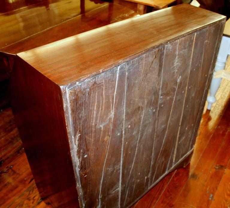 Antique English Inlaid Mahogany George III Slant-Front Bureau, Superb Interior For Sale 11