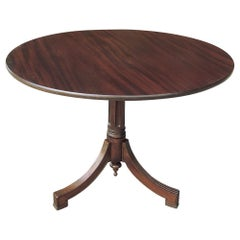 Antique English Mahogany Center Table