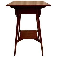 Antique English Mahogany Occasional Table, circa 1910