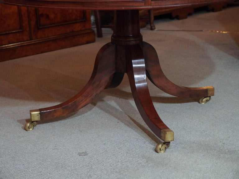 Antique English Mahogany Rent Table For Sale 2