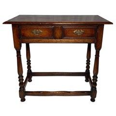 Antique English Oak Table, circa 1860