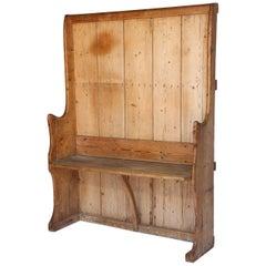 Antique English Pine Settle