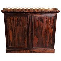 Antique English Regency Coromandel Cabinet, circa 1810-1830