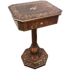 Antique English Rosewood Vanity Table