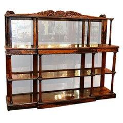 Antique English Rosewood William IV Server, circa 1830-1840