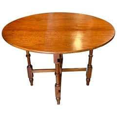 Antique English Satinwood Occasional Table