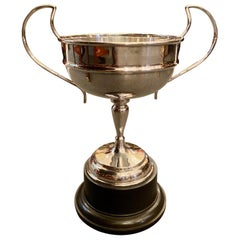 Antique English Sheffield Silver Plated Trophy Cup, circa 1920
