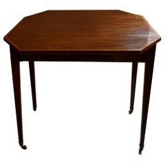 Antique English Sheraton Drop-Leaf Pembroke Table