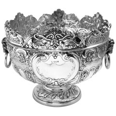 Antique English Silver Bowl