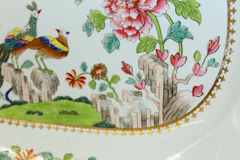 Antique English Spode Earthenware Hand Painted