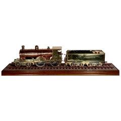 "Antique English Steam Engine Model of ""The Marquis of Breadalbane,"" circa 1890"