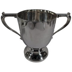 Antique English Sterling Silver Classical Urn Trophy Cup