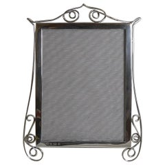 Antique English Sterling Silver Photograph / Picture Frame, 1904
