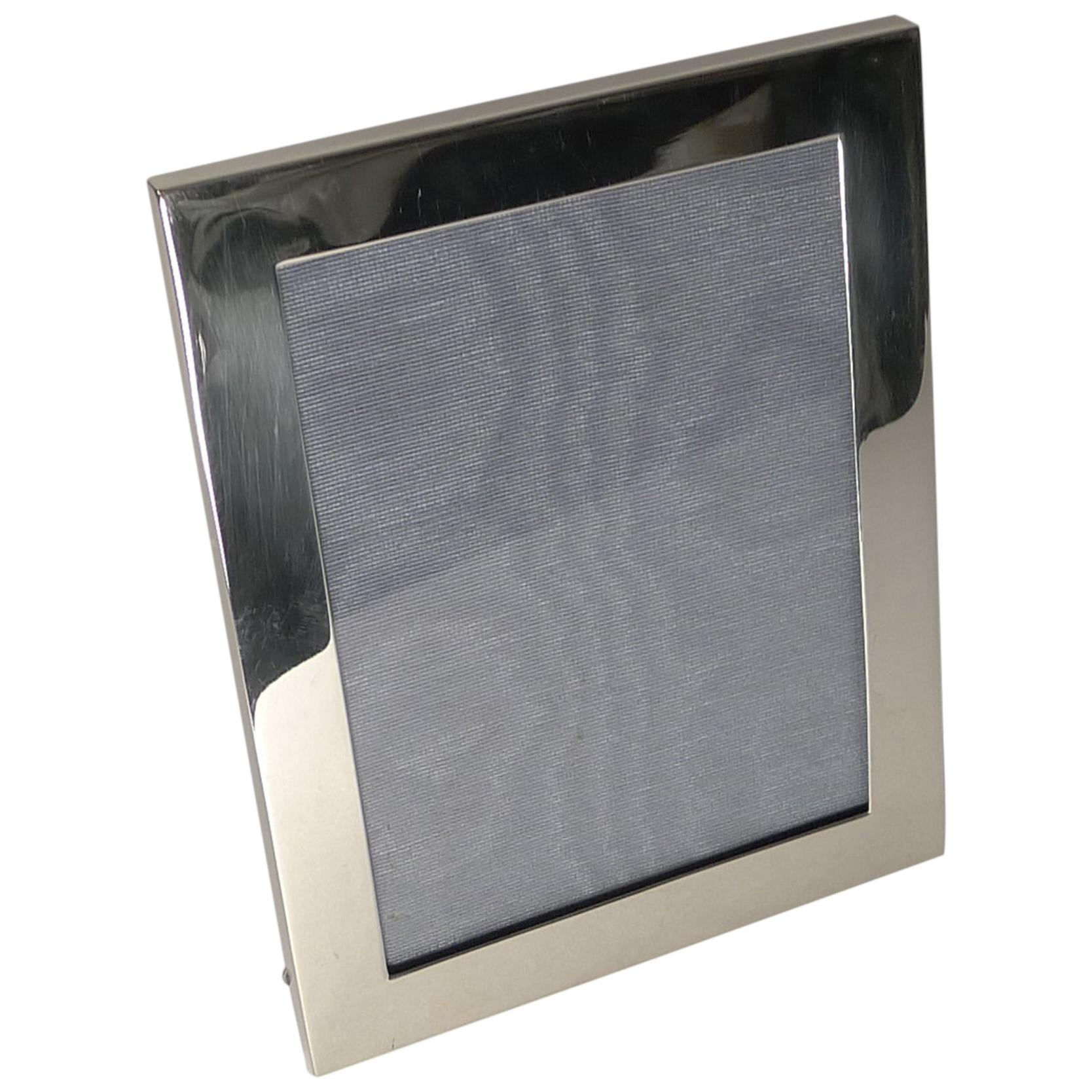 Antique English Sterling Silver Photograph / Picture Frame, 1915