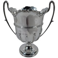 Antique English Sterling Silver Trophy Cup