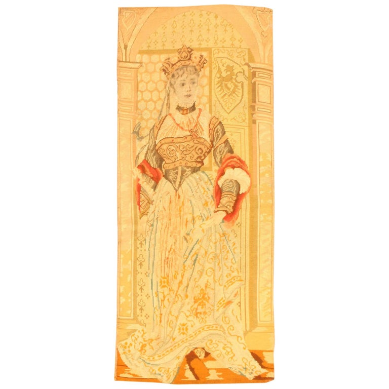 Antique English Tapestry For Sale