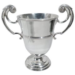 Antique English Victorian Sterling Silver Classical Urn Trophy Cup