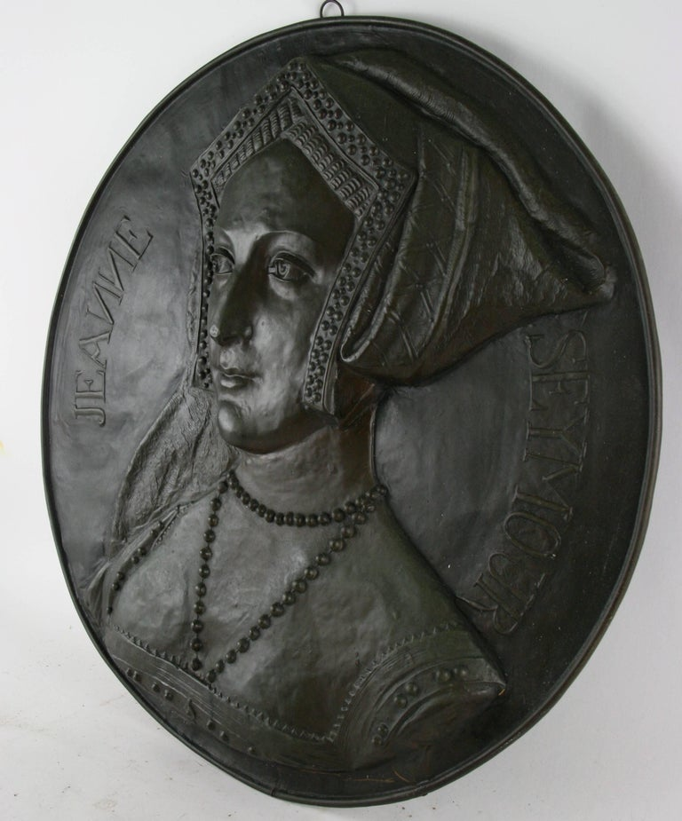 Antique English Wall Relief For Sale 1