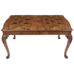 Antique English Walnut Dining Table