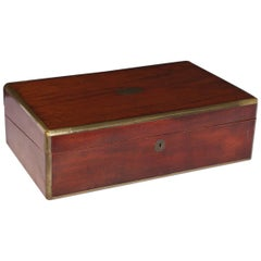 Antique English Writing Box