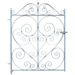Antique English Wrought Iron Pedestrian Gate