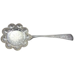 Antique Engraved by Tiffany & Co. Sterling Silver Sugar Sifter
