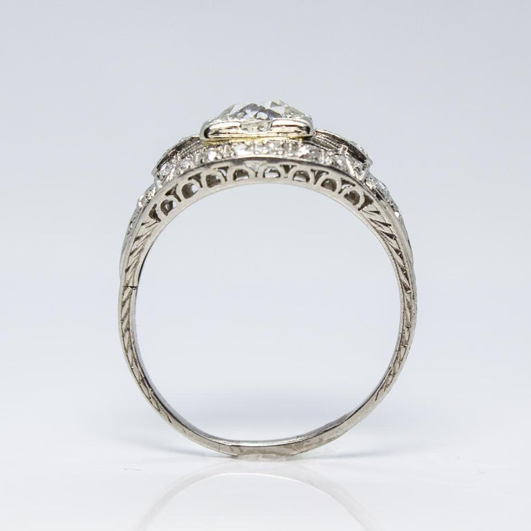 Antique Engagement Rings For Sale: Antique Estate Vintage Edwardian Diamond Platinum