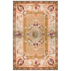 Antique European Aubusson Rug