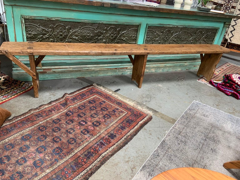 French Antique European Bench For Sale