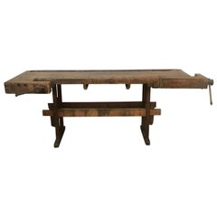 Antique European Carpentry Table