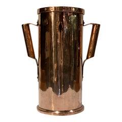 Antique European Copper Tankard