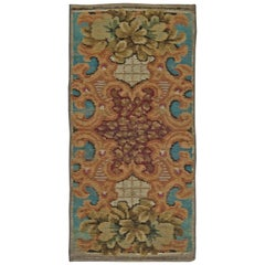 Antique European Fragment Rug