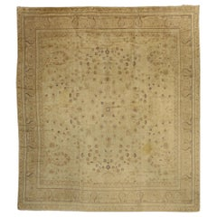 Antique European French Rug with Cotswold Country Cottage Style