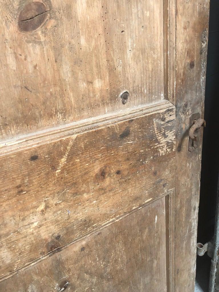 Antique European Single Wooden Farm Door At 1stdibs