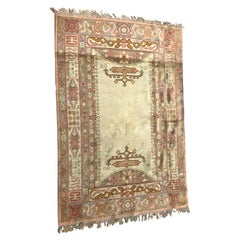 Antique European Spanish Ushak Style Rug