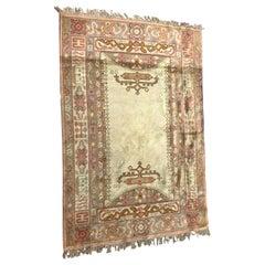 Antique European Spanish Ushak Style Rug
