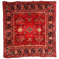 Antique European Ushak Style Rug