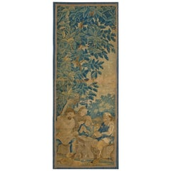 Antique Eurpean Tapestry Rug