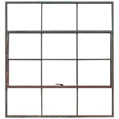 Antique Factory Casement Metal Window, More Available