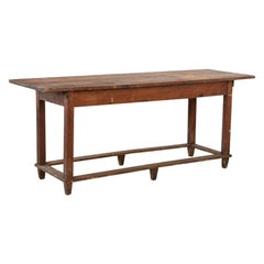 Antique Farm Work Table from Sweden