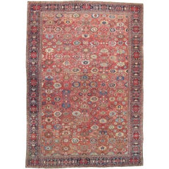 Enormous Antique Fereghan Carpet, Persia
