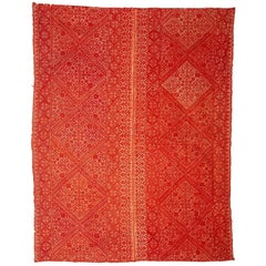 Antique Fez Embroidery from Morocco, 1900s