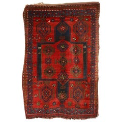 Antique, Fine, Caucasian Carpet, Rug, Kazak, Hand Knotted
