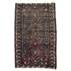 Antique Fine Ghashghai Rug