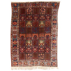 Antique, Fine Orient Rug, Carpet, Hand Knotted