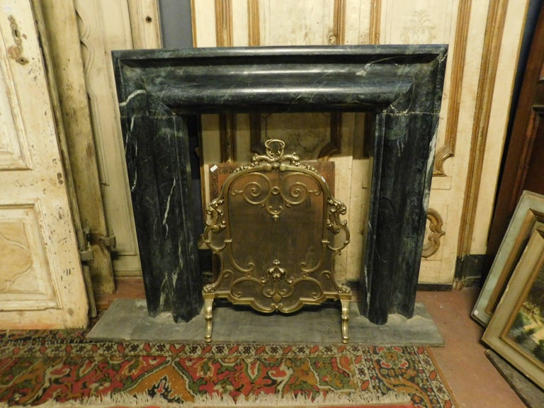 Antique Fireplace in