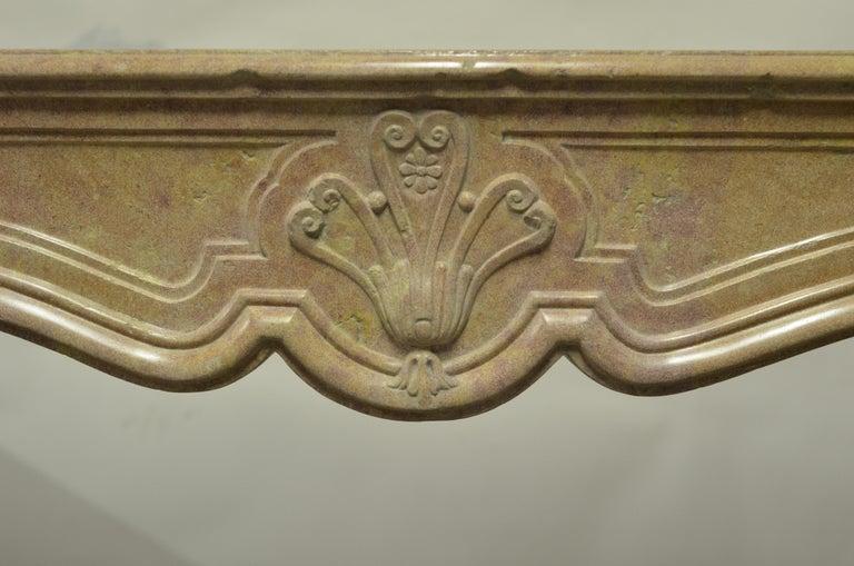 Louis XV Antique Fireplace Mantel For Sale
