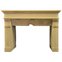 Antique Fireplace Mantel from France
