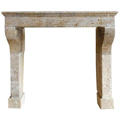 Antique Fireplace Mantel from the Early 19th Century