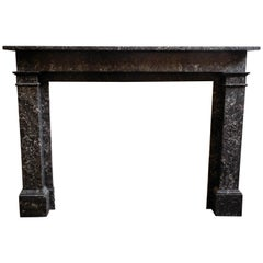 Antique Fireplace  Saint Anne Marble  19th.Century